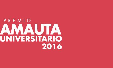 Premio Amauta Universitario 2016